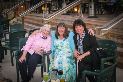 Ann, Putty & I at Jetty's for dinner