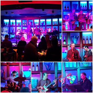 Tuesday night at the Blue Martini