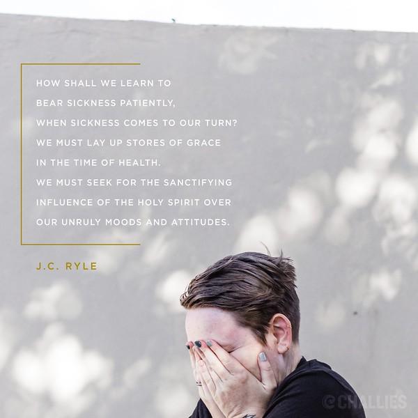 J.C. Ryle on Sickness