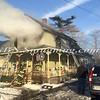Amityville F D  House Fire 58 Park Avenue 2-22-15-16