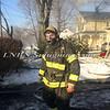 Amityville F D  House Fire 58 Park Avenue 2-22-15-17