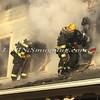 Amityville F D  House Fire 58 Park Avenue 2-22-15-13