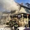 Amityville F D  House Fire 58 Park Avenue 2-22-15-2