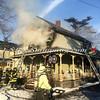 Amityville F D  House Fire 58 Park Avenue 2-22-15-14