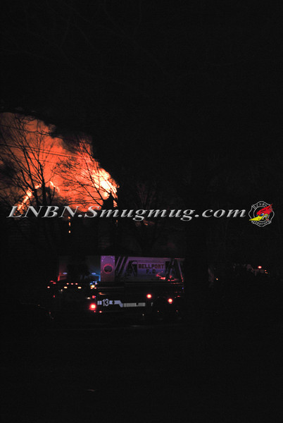 Bellport F D  House Fire 1789 Atlantic Ave  3-12-13-1
