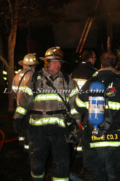 Brentwood F D  Working House Fire 355 Whipple St  11-22-11-66