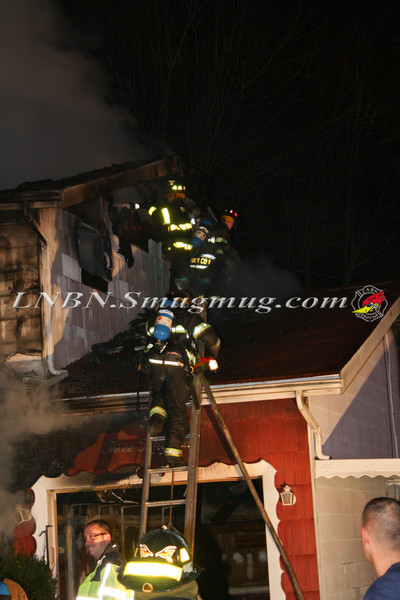 Brentwood F D  Working House Fire 355 Whipple St  11-22-11-68