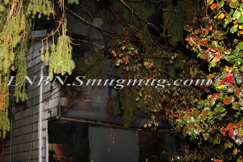 Brentwood F D  Working House Fire 355 Whipple St  11-22-11-77