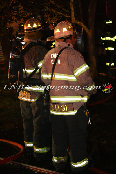 Brentwood F D  Working House Fire 355 Whipple St  11-22-11-67