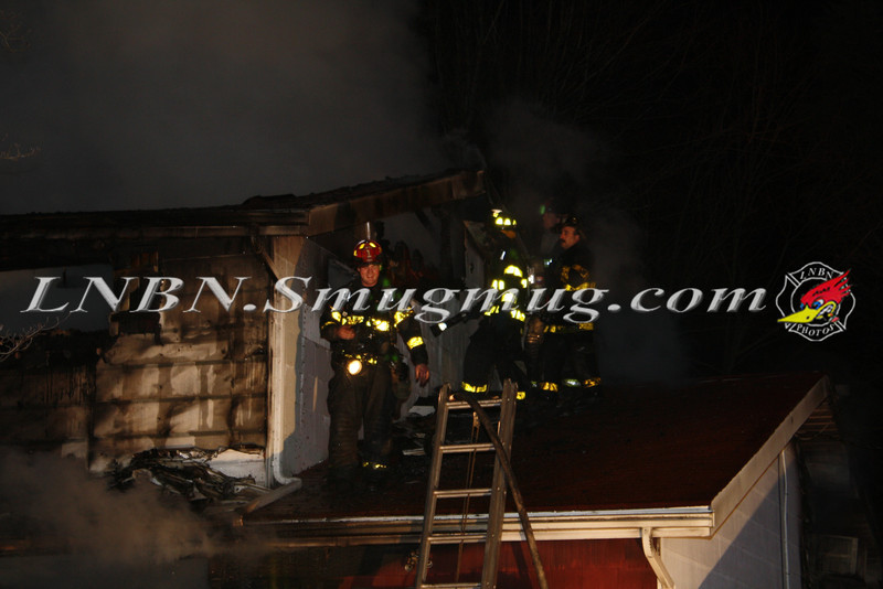 Brentwood F D  Working House Fire 355 Whipple St  11-22-11-65