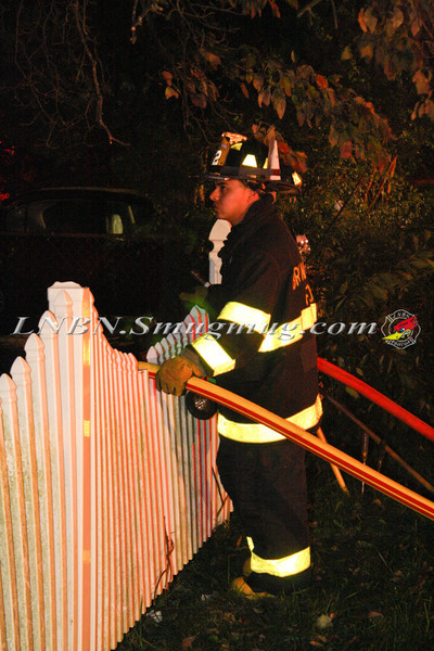 Brentwood F D  Working Vacant House Fire 66 Patton Ave 10-17-11-41