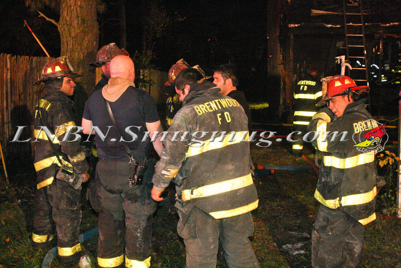 Brentwood F D  Working Vacant House Fire 66 Patton Ave 10-17-11-62