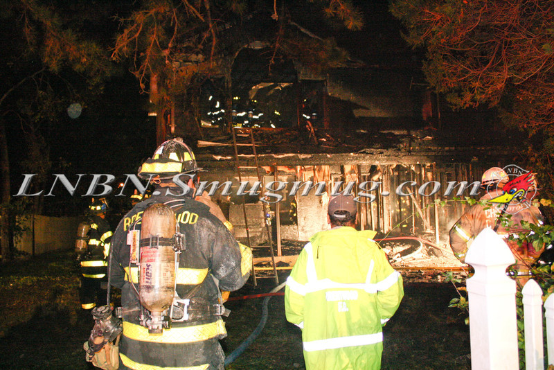 Brentwood F D  Working Vacant House Fire 66 Patton Ave 10-17-11-35