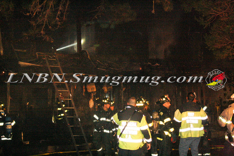 Brentwood F D  Working Vacant House Fire 66 Patton Ave 10-17-11-7