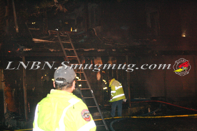 Brentwood F D  Working Vacant House Fire 66 Patton Ave 10-17-11-12