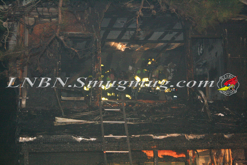 Brentwood F D  Working Vacant House Fire 66 Patton Ave 10-17-11-30