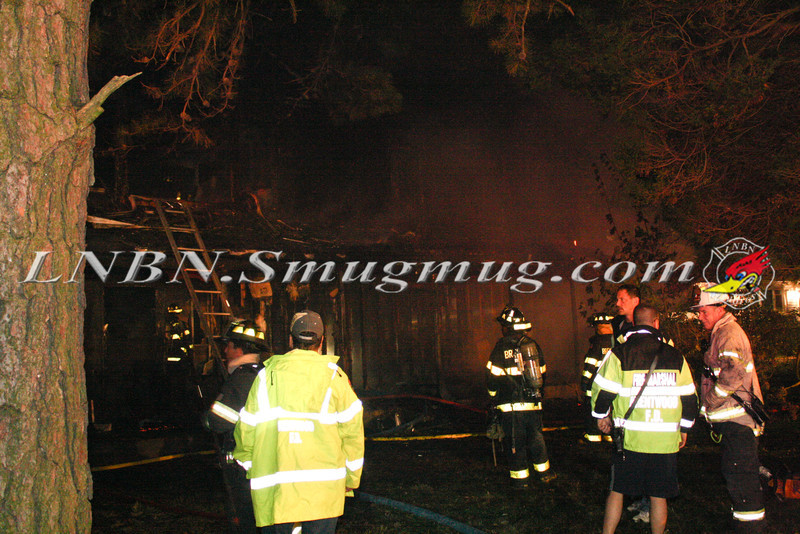 Brentwood F D  Working Vacant House Fire 66 Patton Ave 10-17-11-10