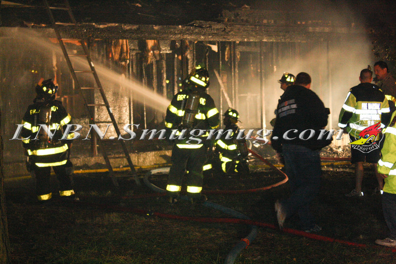 Brentwood F D  Working Vacant House Fire 66 Patton Ave 10-17-11-27