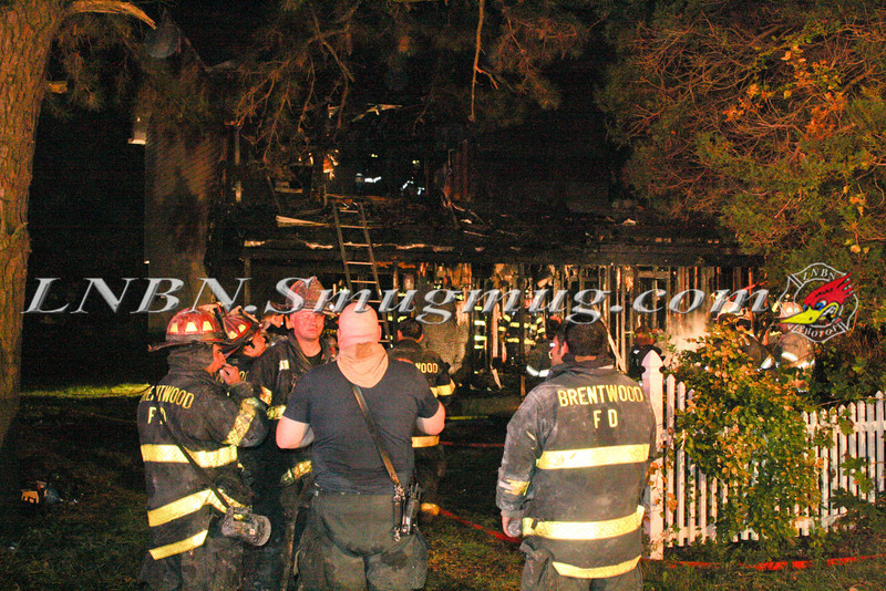 Brentwood F D  Working Vacant House Fire 66 Patton Ave 10-17-11-61