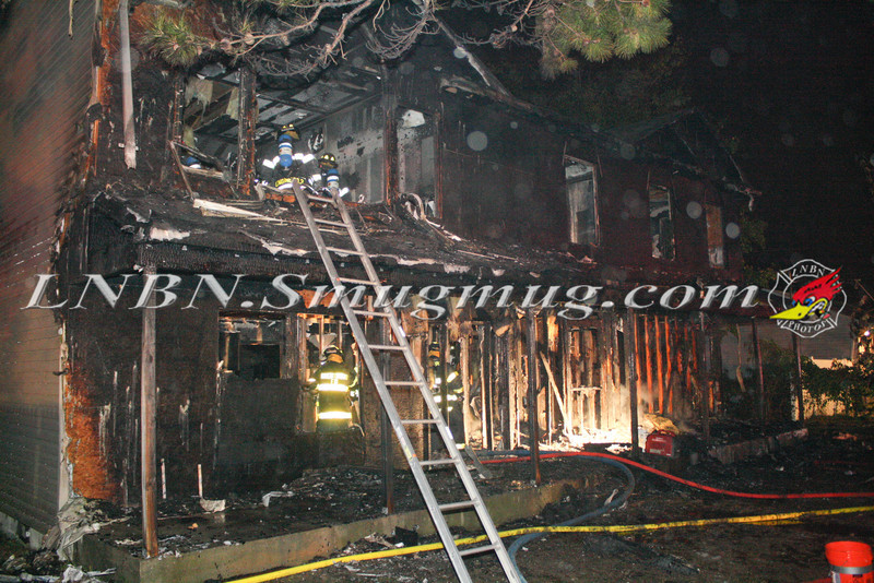 Brentwood F D  Working Vacant House Fire 66 Patton Ave 10-17-11-53