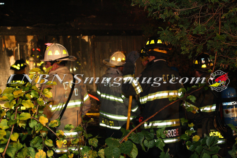 Brentwood F D  Working Vacant House Fire 66 Patton Ave 10-17-11-36