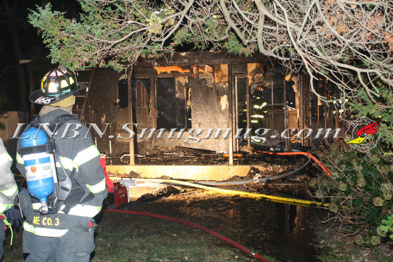 Brentwood F D  Working Vacant House Fire 66 Patton Ave 10-17-11-38