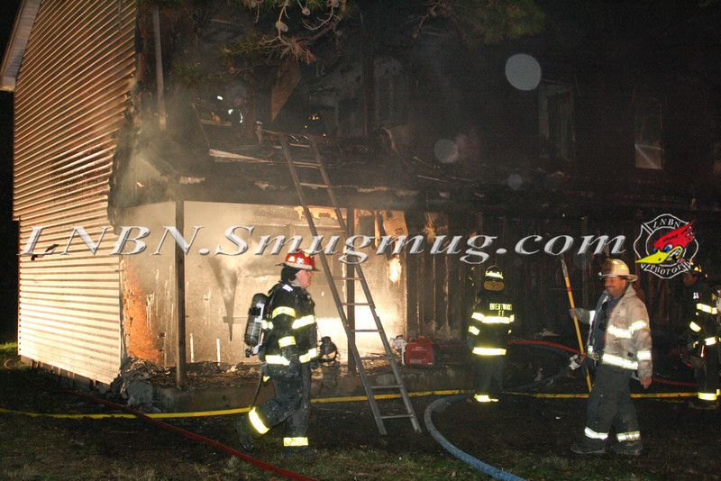 Brentwood F D  Working Vacant House Fire 66 Patton Ave 10-17-11-18