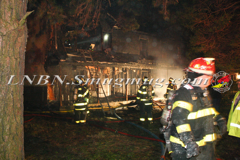 Brentwood F D  Working Vacant House Fire 66 Patton Ave 10-17-11-29