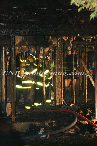 Brentwood F D  Working Vacant House Fire 66 Patton Ave 10-17-11-54