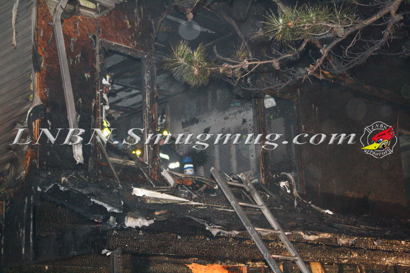 Brentwood F D  Working Vacant House Fire 66 Patton Ave 10-17-11-34