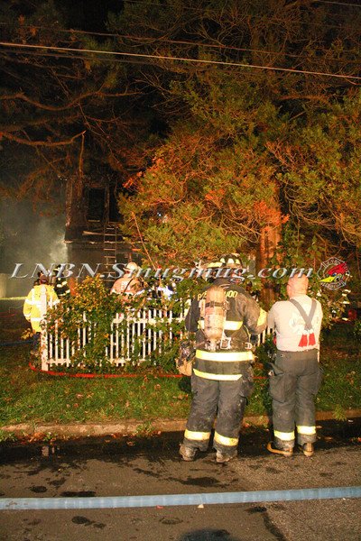 Brentwood F D  Working Vacant House Fire 66 Patton Ave 10-17-11-25