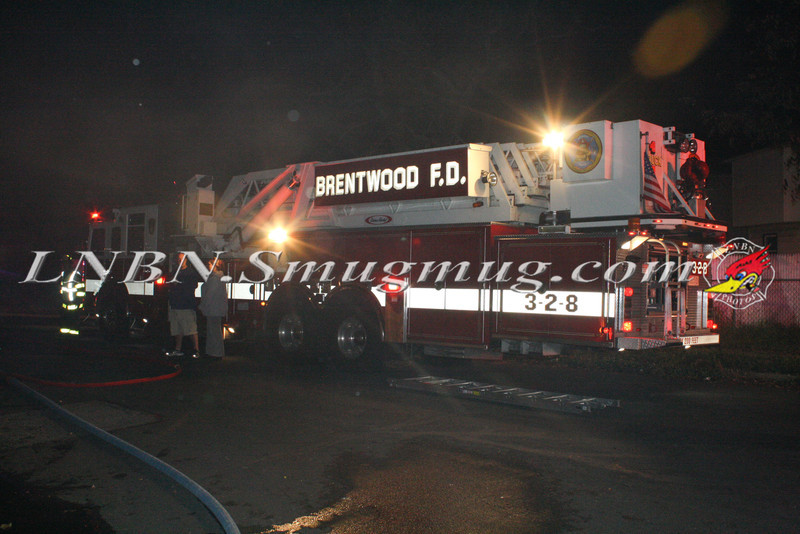 Brentwood F D  Working Vacant House Fire 66 Patton Ave 10-17-11-11