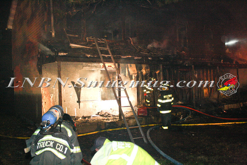 Brentwood F D  Working Vacant House Fire 66 Patton Ave 10-17-11-17