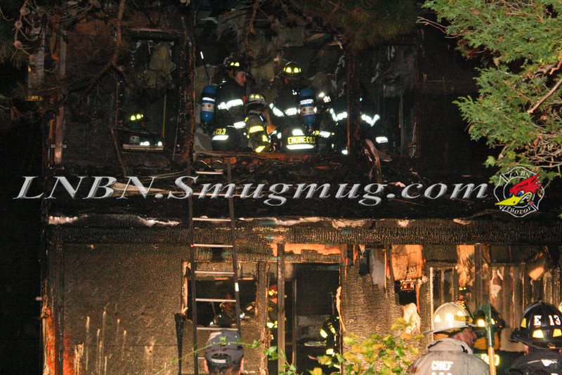 Brentwood F D  Working Vacant House Fire 66 Patton Ave 10-17-11-42