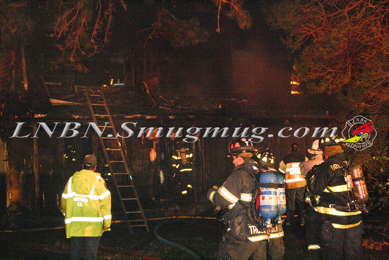 Brentwood F D  Working Vacant House Fire 66 Patton Ave 10-17-11-9
