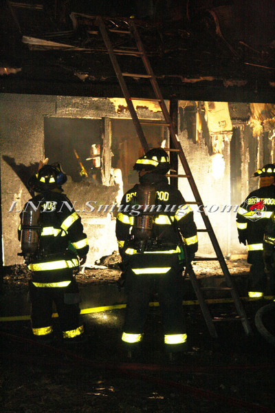 Brentwood F D  Working Vacant House Fire 66 Patton Ave 10-17-11-20