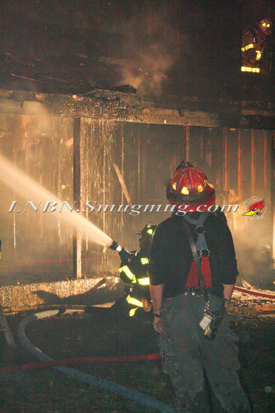 Brentwood F D  Working Vacant House Fire 66 Patton Ave 10-17-11-21