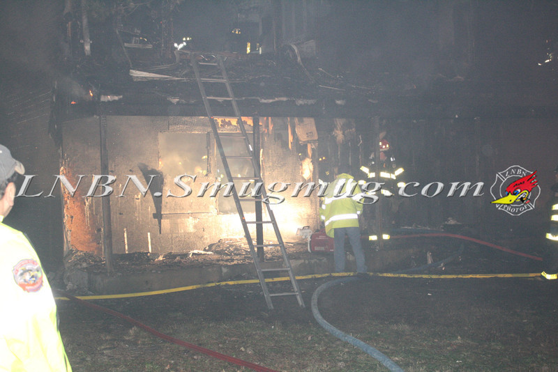 Brentwood F D  Working Vacant House Fire 66 Patton Ave 10-17-11-13
