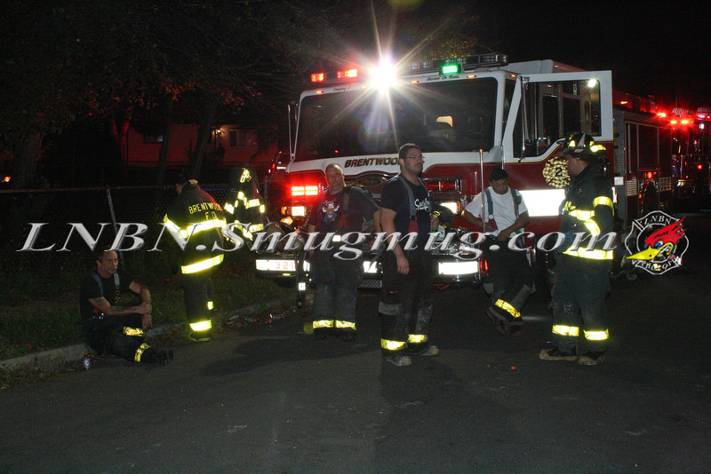Brentwood F D  Working Vacant House Fire 66 Patton Ave 10-17-11-67