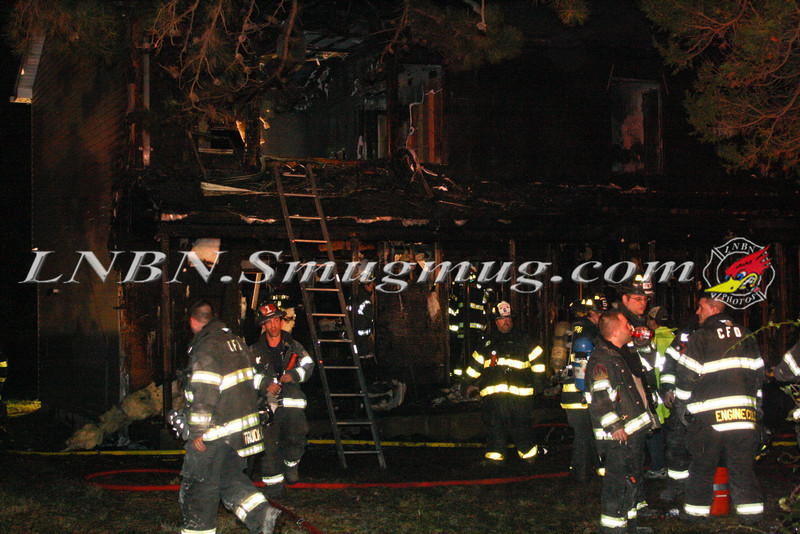 Brentwood F D  Working Vacant House Fire 66 Patton Ave 10-17-11-77