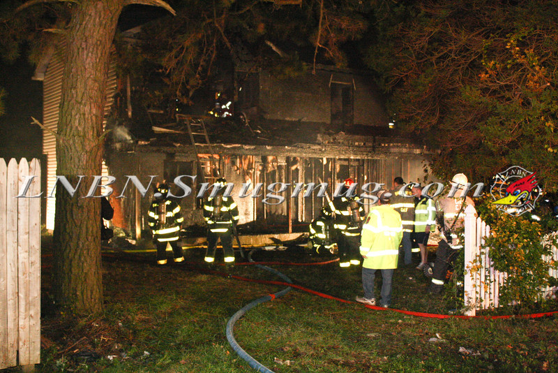 Brentwood F D  Working Vacant House Fire 66 Patton Ave 10-17-11-24
