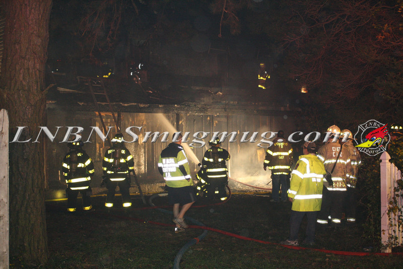 Brentwood F D  Working Vacant House Fire 66 Patton Ave 10-17-11-22