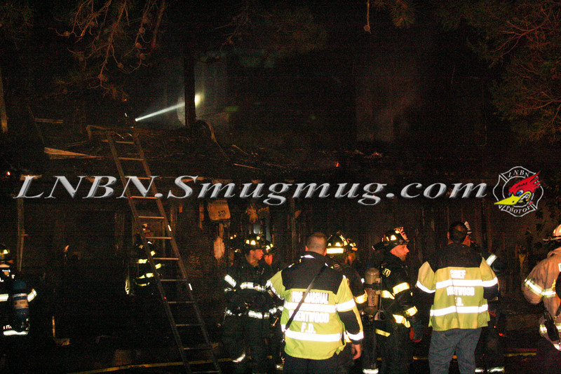 Brentwood F D  Working Vacant House Fire 66 Patton Ave 10-17-11-8