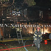 Brentwood F D  Working Vacant House Fire 66 Patton Ave 10-17-11-51