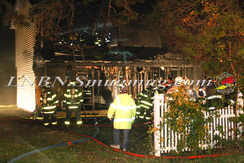 Brentwood F D  Working Vacant House Fire 66 Patton Ave 10-17-11-26