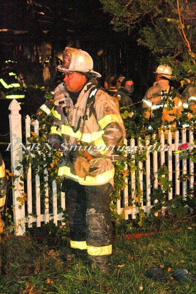 Brentwood F D  Working Vacant House Fire 66 Patton Ave 10-17-11-63