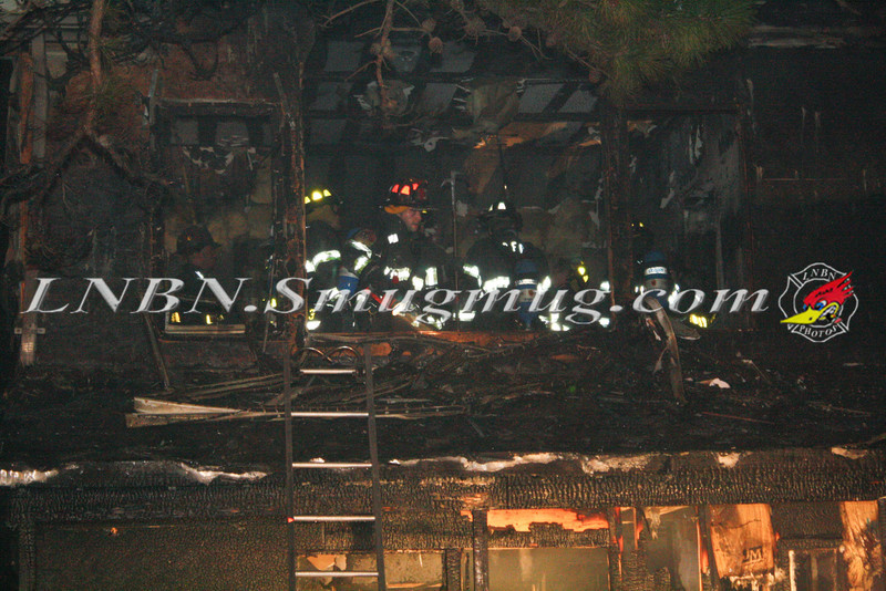 Brentwood F D  Working Vacant House Fire 66 Patton Ave 10-17-11-37