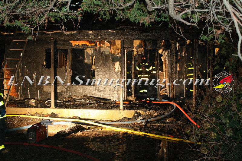 Brentwood F D  Working Vacant House Fire 66 Patton Ave 10-17-11-39