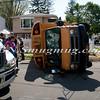 Copiague School Bus Overturn MVA-2