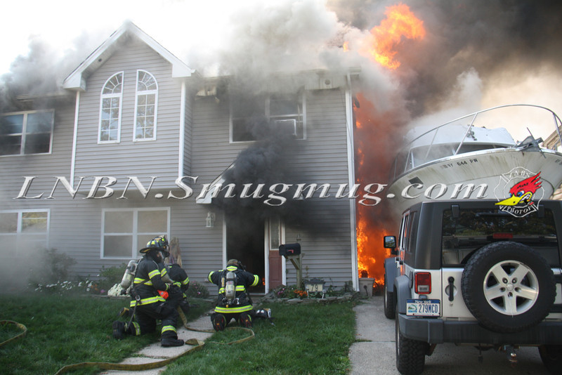 Copiague Working Fire-1